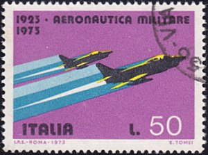 Italy # 1100 used ~ 50 l Military Jets