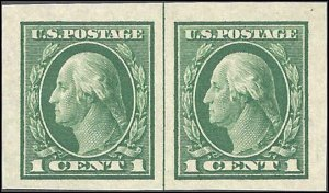 408 Mint,OG,NH... Line Pair... SCV $4.20