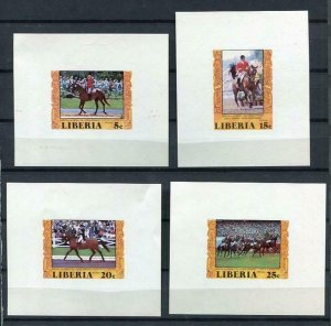 Liberia 1977 Sc 784-7 Imperf Sheets Proof Olympic Gold Medal winners MNH 6232