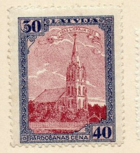 Latvia 1930-31 Early Issue Fine Mint Hinged 30s. NW-06276