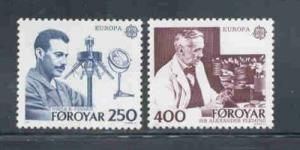 Faroe Islands Sc 95-6 1983 Europa stamp set mint NH
