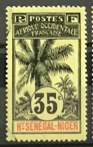 Upper Senegal & Niger #10 Used CV$5.00 Oil Palms
