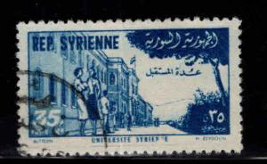 Syria Scott C179 Used 1954 airmail stamp