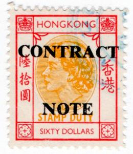 (I.B) Hong Kong Revenue : Contract Note $60
