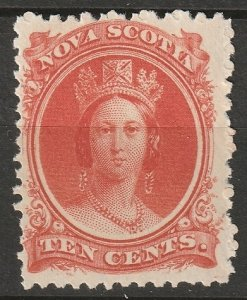 Nova Scotia 1860 Sc 12 MLH*