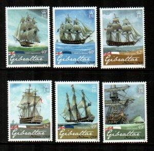 Gibraltar #1128-1133  MNH  Scott $17.50
