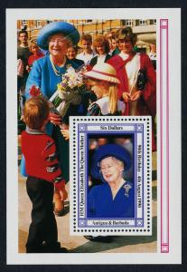 Antigua 1328 MNH Queen Mother 90th Birthday, Flowers