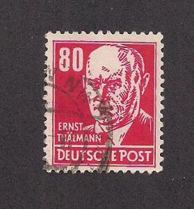 GERMANY - DDR SC# 135 F-VF U 1953