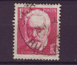 J4266 JLstamps 1935 france used set/1 #303 victor hugo