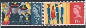 Great Britain, 424-25, MNH