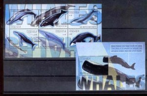 024216 WHILE SET+S/S MICRONESIA MNH #24216