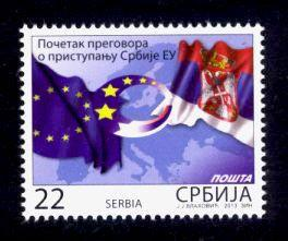 Serbia Sc# 649 MNH Negotiations with European Union