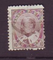 J18621 JLstamps 1903-8 canada used #93 king