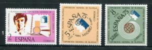 Spain #1801-3 MNH