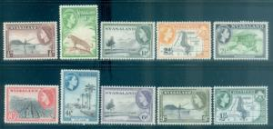 Nyasaland Protectorate #97-106 Part Set  Mint  Scott $6.00