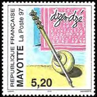 MAYOTTE 1997 - Scott# 88 Musical Instrument Set of 1 NH