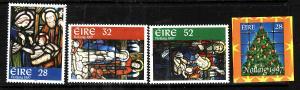 Ireland-Sc#1090-3-unused NH set-Christmas-1997-