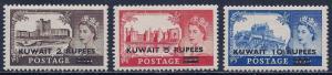 Kuwait Scott #'s 117 - 119 MH