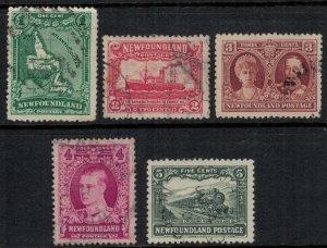 Newfoundland #163-7  CV $5.80