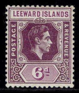 LEEWARD ISLANDS GVI SG109a, 6d deep dull purple & bright purple, M MINT. Cat £12
