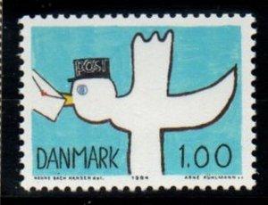 Denmark  Scott  764 1984  Post Bird stamp mint NH