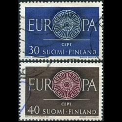 FINLAND 1960 - Scott# 376-7 Europa Set of 2 Used