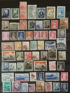TURKEY Early Stamp Lot Used T2781