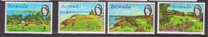 J22192 Jlstamps 1971 bermuda set mh #284-7 views