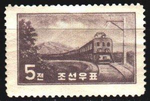 North Korea. 1959. 210 from the series. Train. MVLH.