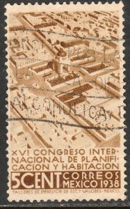 MEXICO 740, 5c Planification Congress, Used. F-VF.  (272)