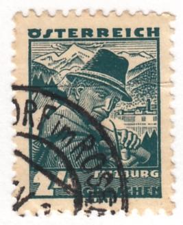 Austria, Scott #362 (2), Used