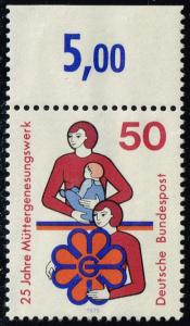 Germany #1154 Mothers' Foundation; Unused (0.65)