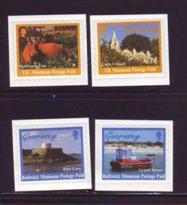 Guernsey Sc 625-8 1998  Island view stamps mint NH