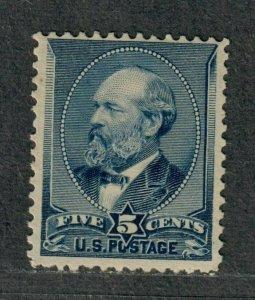 US Sc#216 M/F, No Gum, Cv. $75