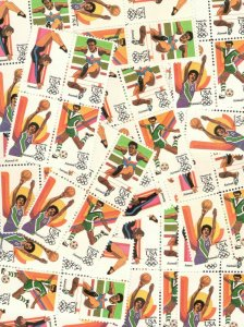 C101-104 Summer Olympics 25 Blocks of 4 (100 Stamps) Mint/nh Selling Below Face