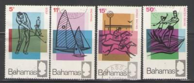 Bahamas Sc 272-56 1968 Tourist stamps used