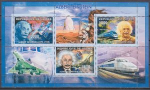 2006 Guinea 4287-89KL Albert Einstein 7,50 €