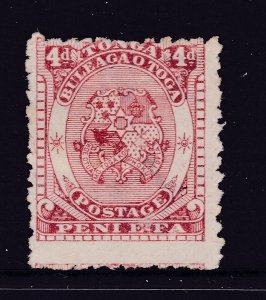 Tonga a MNG 4d from the 1892 set