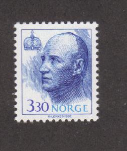 Norway 1007, F-VF, MNH