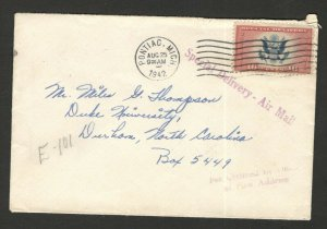 USA -LETTER - SPECIAL DELIVERY-AIR MAIL - 1942.