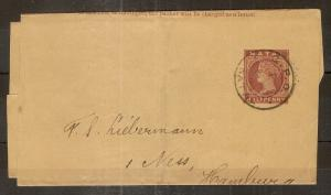 Natal 1890's Newspaper Wrapper
