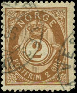 Norway Scott #37 Used