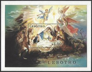 Lesotho #318 MNH Souvenir Sheet