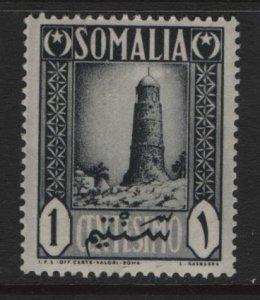 SOMALIA, 170, HINGED, 1950, TOWER AT MNARA CIROMO