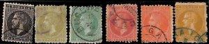 94959c - ROMANIA  - STAMP - Yvert #  48/54 - USED