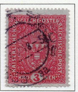 Austria 1916 Early Issue Fine Used 3K. NW-38052