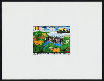 Mali 388-90 Deluxe Sheets MNH Architecture, Dam, Animal