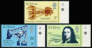 Saint Helena Scott 314-316 Mint never hinged.