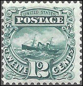 117 Mint,RG,H... SCV $725.00