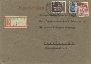 Germany 60pf Cologne Cathedral and 20pf Brandenburg Gate with 2pf Berlin Tax ...